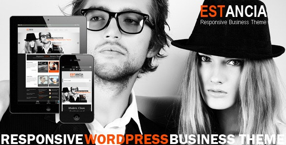 Estancia - Responsive WordPress HTML 5 Theme - Corporate WordPress