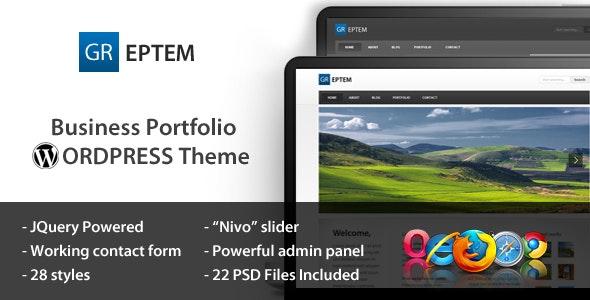 GREPTEM - Business & Portfolio Wordpress Theme - Corporate WordPress