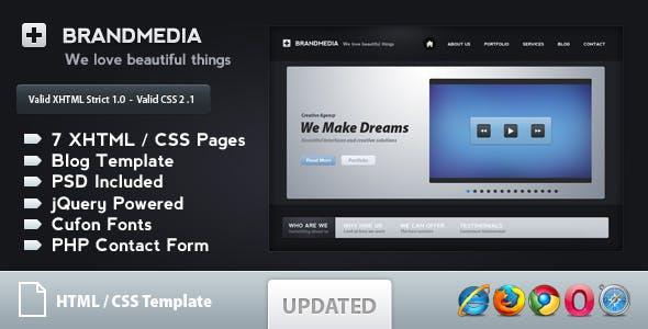 Brand Media - Modern Business Template