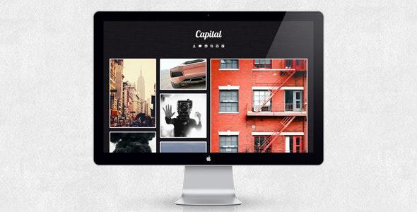 Capital - Tumblr Theme - Blog Tumblr