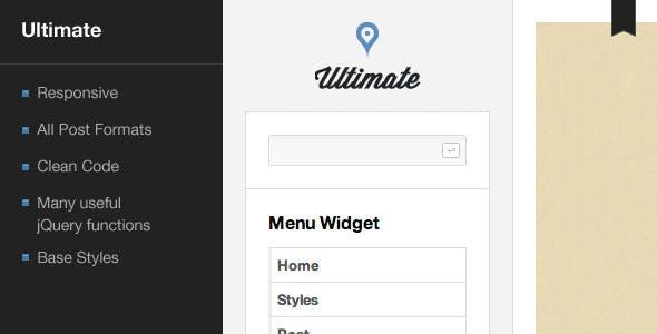 Ultimate - Blog Template
