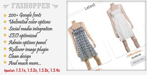 Fashopper - Premium OpenCart Theme - Fashion OpenCart