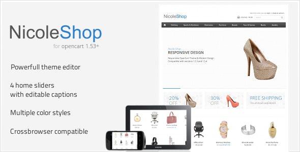 Nicole Shop - OpenCart eCommerce