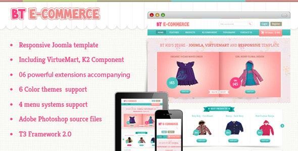 BT E-commerce - Responsive Joomla and Virtuemart - VirtueMart Joomla