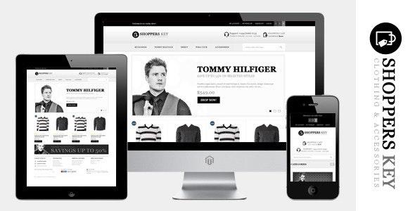 Shoppers Key - Responsive Magento Theme - Fashion Magento