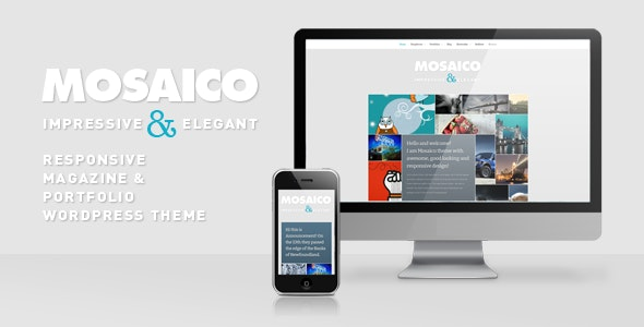 Mosaico - Unique Magazine Theme - Blog / Magazine WordPress