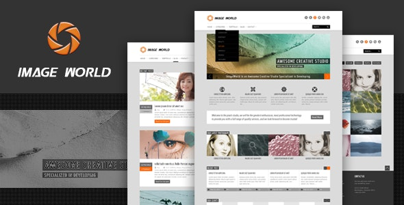 ImageWorld - Premium HTML Template - Creative Site Templates