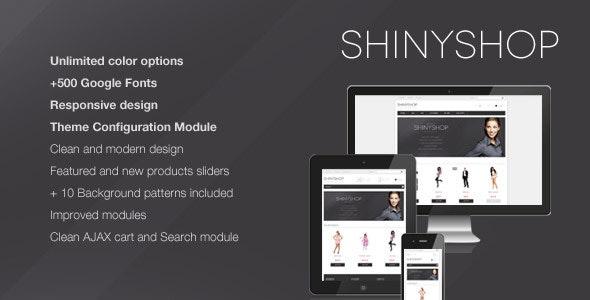 ShinyShop - Flexible Prestashop Theme - Fashion PrestaShop