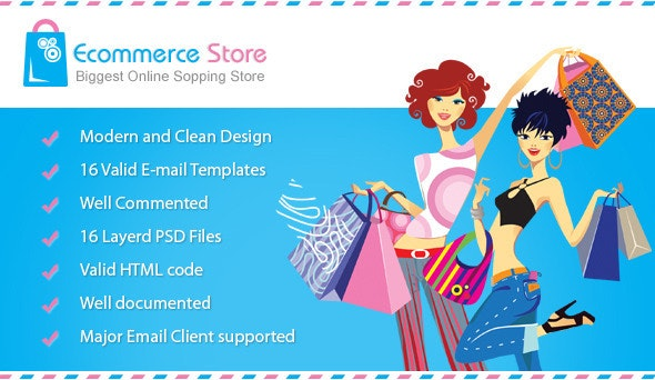 Ecommerce Email Template - Email Templates Marketing