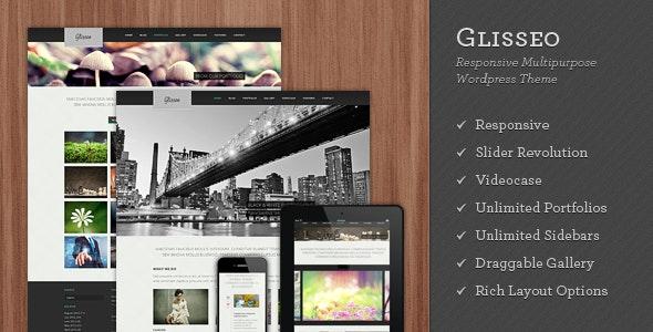 Glisseo - Responsive Multipurpose WordPress Theme - Portfolio Creative