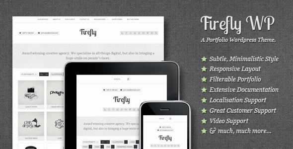 Firefly: Responsive & Creative WP Portfolio Theme - Portfolio Creative