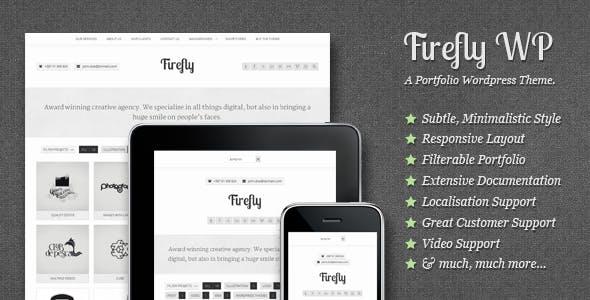 Firefly: Responsive & Creative WP Portfolio Theme