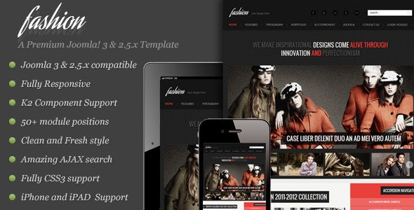 Fashion - Responsive Joomla Template - Fashion Retail