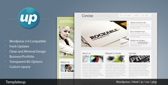 Concise - Corporate WordPress