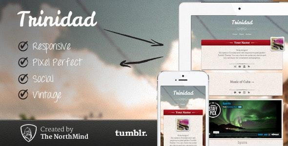 Trinidad Responsive Theme - Blog Tumblr