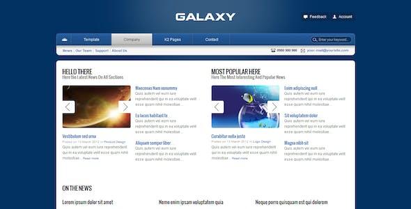 Galaxy Corporate Template For Joomla!