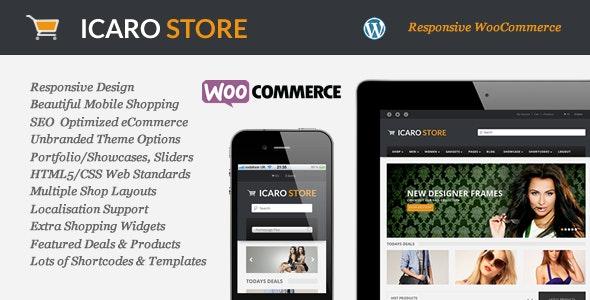 Icarostore - Responsive WooCommerce Theme - WooCommerce eCommerce