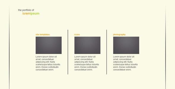 Simple Transitions Portfolio - Portfolio Creative