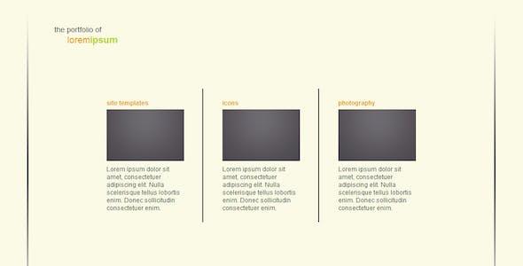 Simple Transitions Portfolio