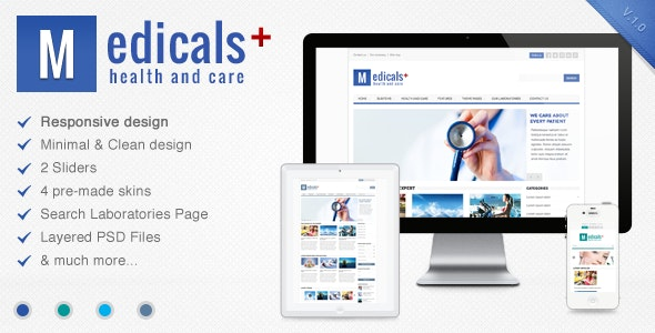 Medicals - Premium Responsive Medical Template - Health & Beauty Retail