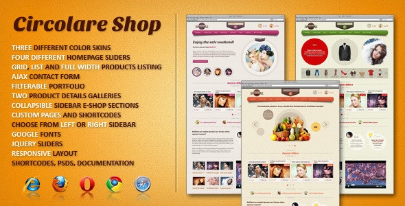 Circolare eCommerce HTML Template - Retail Site Templates