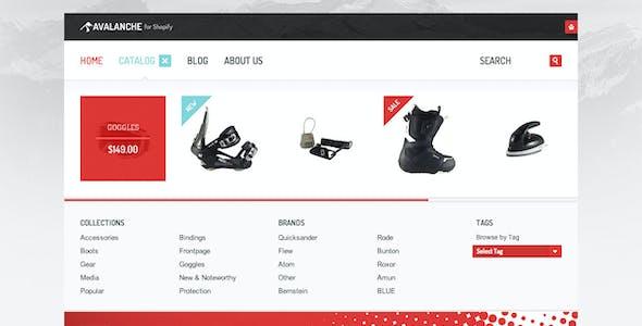 Avalanche for Shopify — Responsive Premium Theme