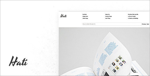 Hati - Portfolio Creative
