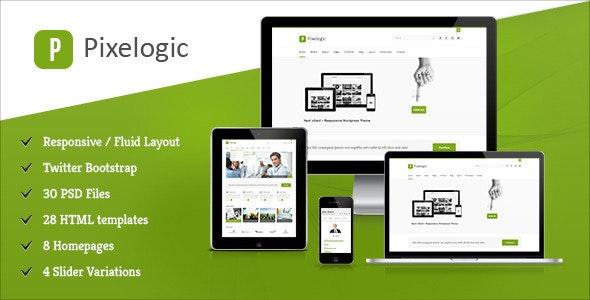 Pixelogic - Responsive Multipurpose HTML Template - Creative Site Templates