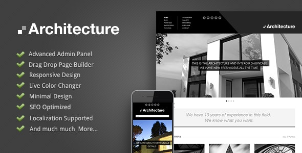 Architecture - WordPress Theme - Corporate WordPress