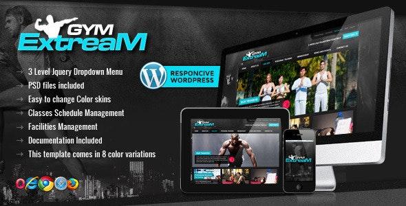 Gym Extream - Gym and Fitness Wordpress Theme - Health & Beauty Retail