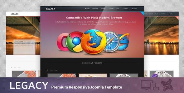 Legacy - Responsive Joomla Theme