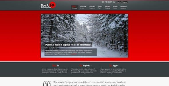 SpiritFX – Business and Portfolio Template