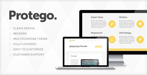 Protego - PSD Templates - Corporate Photoshop