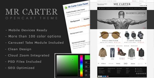 Mr Carter - OpenCart Premium Theme - OpenCart eCommerce