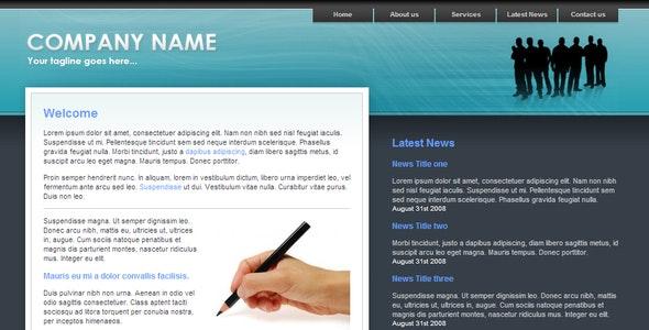 Corporate Pastel - Corporate Site Templates