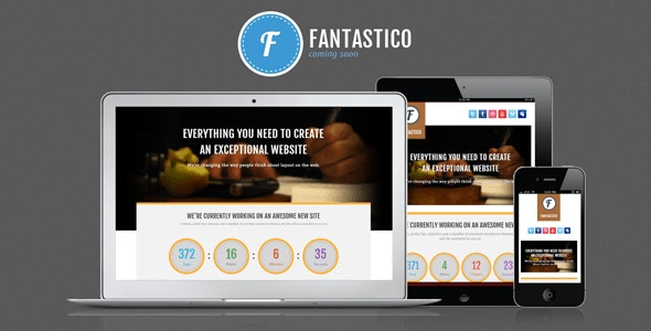 Fantastico Coming Soon - Under Construction Specialty Pages