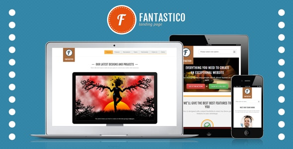 Fantastico Landing Page - Landing Pages Marketing