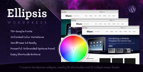 Ellipsis: Business and Portfolio Wordpress Theme - Business Corporate