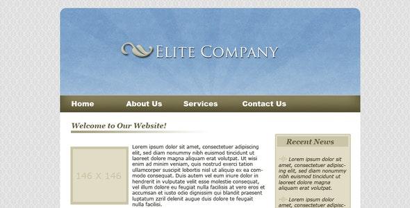 Soft Blue - Creative Site Templates