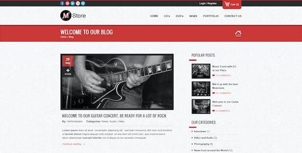 Musica - Responsive WordPress WooCommerce Theme