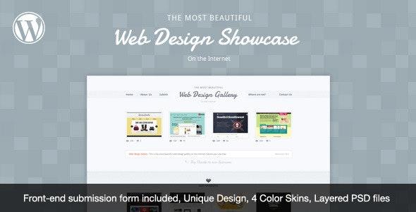 Web Design Showcase - WordPress Theme - Creative WordPress