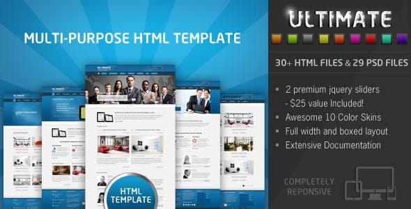 Ultimate - Responsive HTML