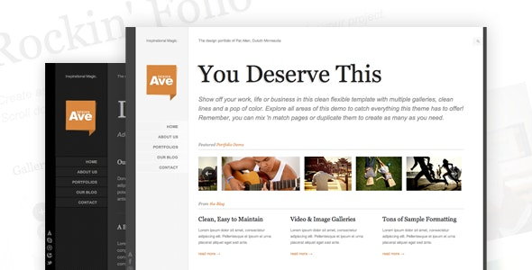 Design Avenue - HTML/CSS Template - Portfolio Creative