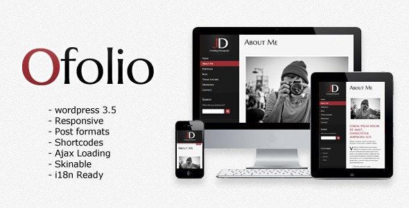 O'Folio - Wordpress Responsive Portfolio - Portfolio Creative