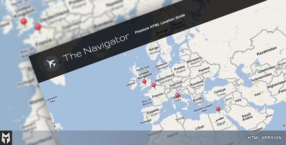The Navigator: Premium HTML Location Guide + Blog by theMOLITOR