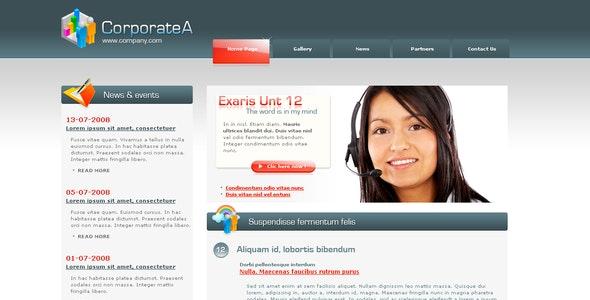 Corporate A - Corporate Site Templates