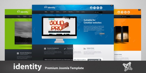 Identity - Premium Joomla Template - Joomla CMS Themes