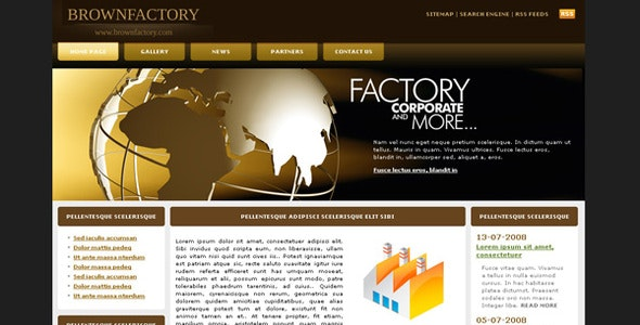 BrownFactory - Business Corporate