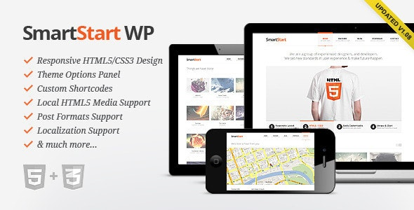 SmartStart WP - Responsive HTML5 Theme - Creative WordPress