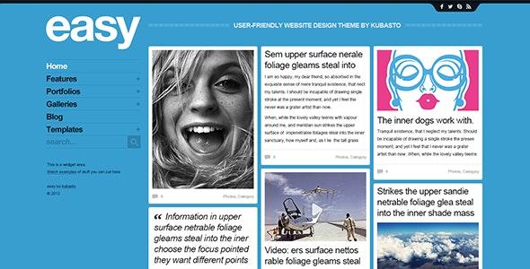 easy - PSD Website Template - Portfolio Creative